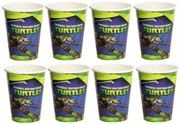 "Party-Becher: Pappbecher, Motiv ""Teenage Mutant Ninja Turtles"", 8 Stück - 1"