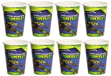 "Party-Becher: Pappbecher, Motiv ""Teenage Mutant Ninja Turtles"", 8 Stück - 1"