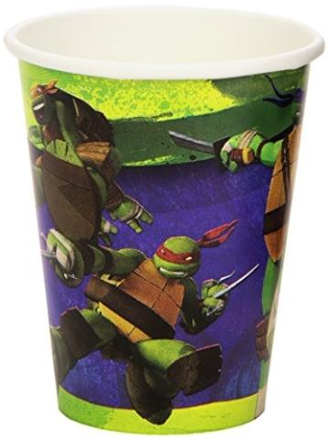"Party-Becher: Pappbecher, Motiv ""Teenage Mutant Ninja Turtles"", 8 Stück - 2"