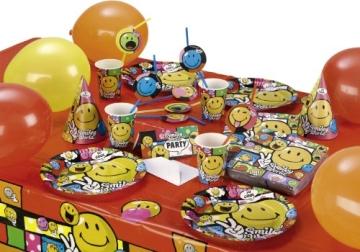 "Party-Becher: Pappbecher, ""Smiley World"" Comic, 250 ml, 8er-Pack - 2"
