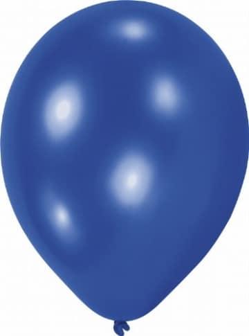 Party-Luftballon: blau, 100er-Pack - 1
