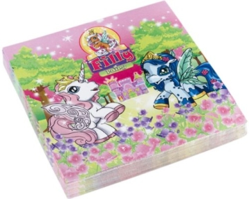 "Party-Servietten: Servietten mit dem Motiv ""Filly Fairy"", 33 x 33 cm, 20er-Pack - 1"