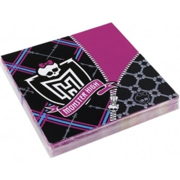 Party-Servietten: Servietten, Monster High, 33 x 33 cm, 20er-Pack - 2