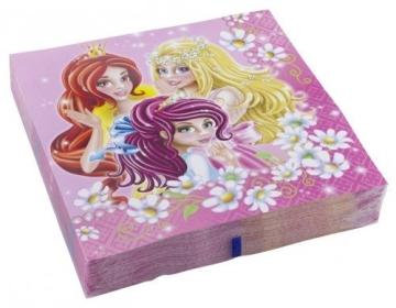 Party-Servietten: Servietten, Prinzessin, 33 x 33 cm, 20er-Pack - 1
