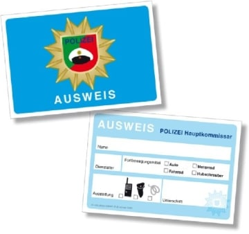 Party-Set: Ergänzungsset Polizei, Isis Wimmelwelt, 38-teilig - 4