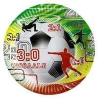 Party-Teller Fussballparty 8er-Pack, Deko WM 2010 - 1