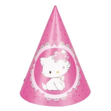 "Partyhut: Partyhütchen, ""Charmmy Kitty"", 6 Stück - 1"