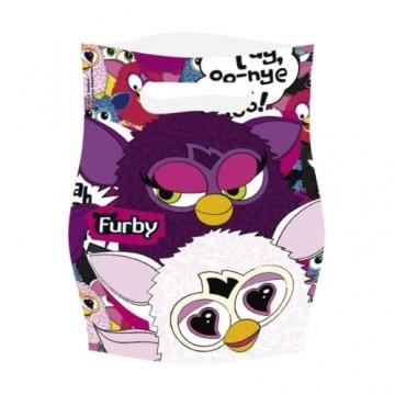 """Partytüten: Geschenktüten, Motiv """"Furby"""", 6 Stück - 1"""
