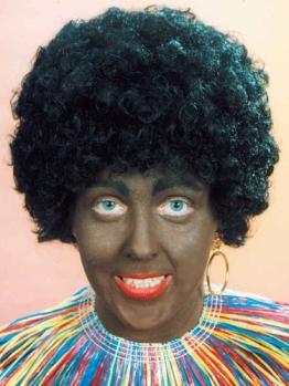 "Perücke: Afro-Perücke ""African Boy"", schwarz - 1"