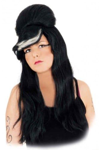 """Perücke """"Emi"""", schwarz, lange Haare - 1"""
