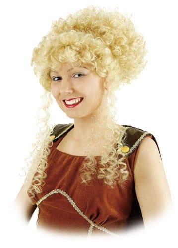 """Perücke: """"Griechin"""", blonde hochgesteckte Locken - 1"""