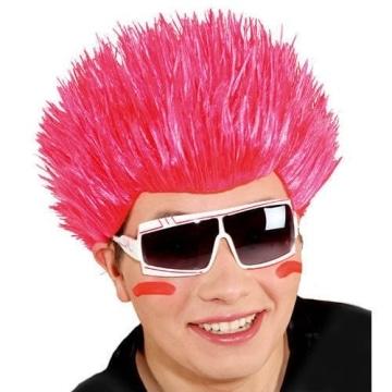 Perücke: Herren-Perücke, Spikes, neonfarben, verschiedene Farbtöne - 1