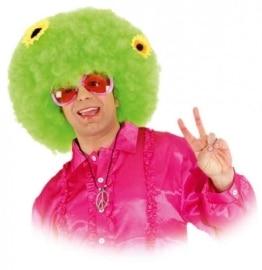 """Perücke: Herren-Perücke """"Sunflower-Boy"""", Afro, grün - 1"""