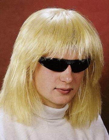 Perücke: Hippie-Perücke, blond - 1