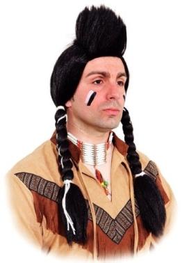Perücke: Indianer-Perücke, Navajo - 1