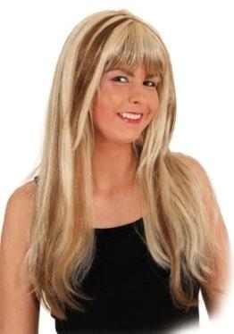 """Perücke """"Jenny"""", blond meliert, lange Haare - 1"""