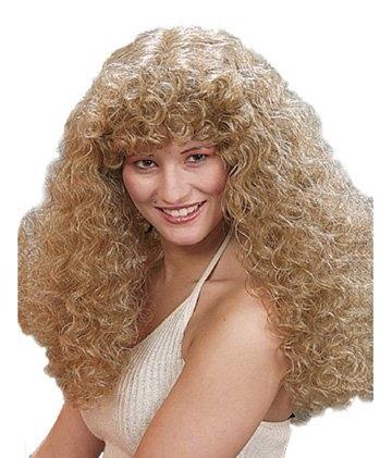 "Perücke ""Moni"", blond, lange Locken - 1"