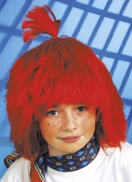 "Perücke ""Moritz"", rot, Kindergröße - 1"