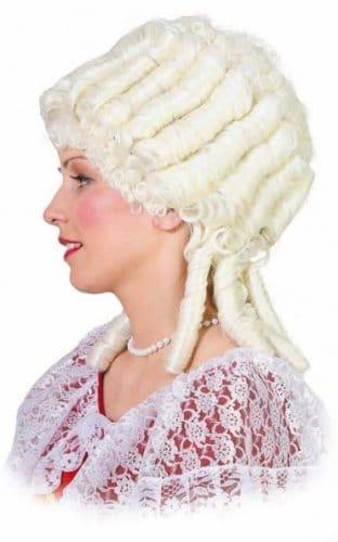 """Perücke: Perücke """"Marie Antoinette"""", weiß, braun oder natur - 3"""