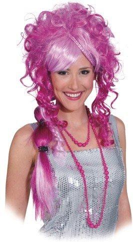 """Perücke: Perücke """"Naomi"""", pink, lange Locken - 1"""
