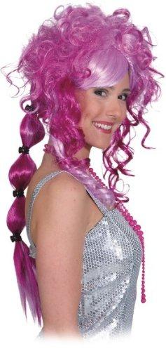 """Perücke: Perücke """"Naomi"""", pink, lange Locken - 2"""