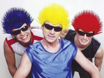 "Perücke: Perücke ""Spike"", Stachelkopf, verschiedene Farben - 1"