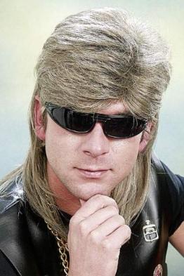 Perücke: Rocker, blond - 1