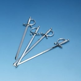 Picker: Degen-Picker aus Kunststoff, 11,5 cm, 20er-Pack - 1