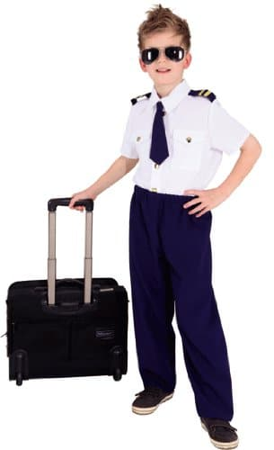 Pilot : Hemd, Hose und Krawatte - 1