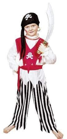 Pirat : Hose, Oberteil, Tuch, Schärpe - 1