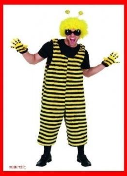 Plüschhose Biene für Herren - 1