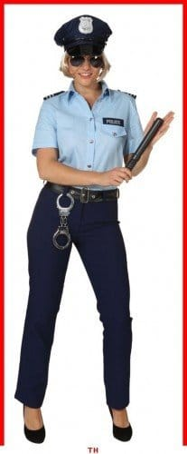 Police Woman : Hose und Bluse - 1