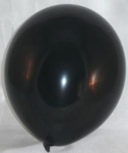 Premium-Luftballon: schwarz, 100er-Pack - 1