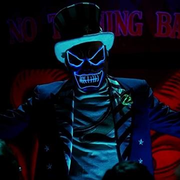 Purge Maske, LED Halloween Maske, Horrormaske 3