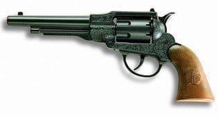 Revolver: Spielzeug-Pistole für 8-Schuss-Munition - 1