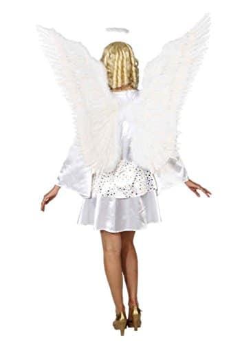 Riesen-Federflügel weiß, 100x100cm - 1