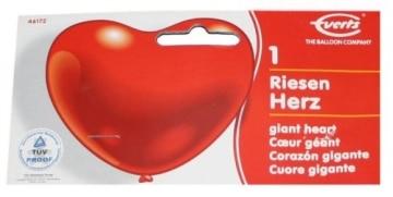 Riesen-Herzballon in Rot - 2