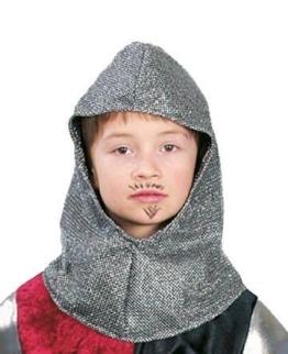 Ritter-Kostüm: Ritterhaube für Kinder - 1