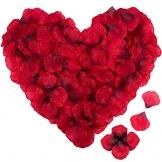 Rosenblätter - Rosen Blüten - Valentinstag - Hochzeit - Geburtstag - romantischer Abend