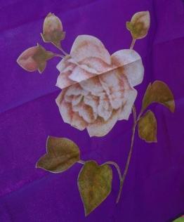 Rosenfahne lila 5 Meter bedruckt, RF511 - 1