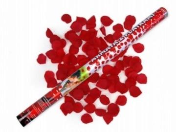 RosenRegen Konfetti-Shooter 60cm, fliegende Rosenblätter - 2