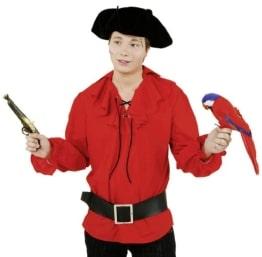 rote Piratenbluse - 1