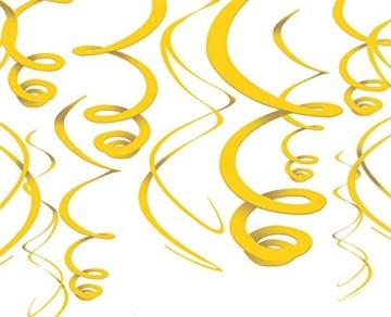 Rotorspirale, gelb, 55 cm, 12er-Pack - 1