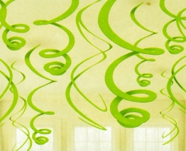 Rotorspirale, grün, 55 cm, 12er-Pack - 1