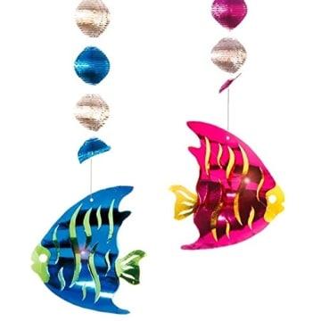 Rotorspirale mit Fisch, 80 cm, 2er-Pack - 1
