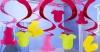 Rotorspirale Tiny Girl: verschiedene Motive und Farben, 60 cm, 15er-Pack - 1