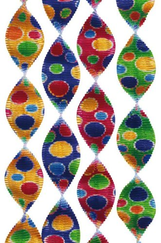 Rotorspiralen-Set: Konfetti-Rotorspiralen, 5 cm breit, 60 cm lang, 4er-Pack - 1