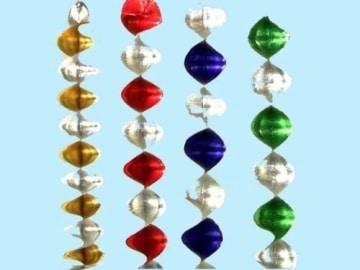 Rotorspiralen-Set: Rotorspiralen, verschiedene Farben, 5 cm breit, 60 cm lang, 4er-Pack - 1
