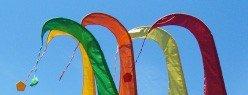 Rundbogen-Aufsatz für Balifahnen, Dekovalenz KB100, für die typische Rundung der Fahne - 1