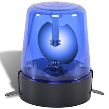 Rundumlicht: Blaulicht, reflektierender Spiegel, 185 x 185 x 150 mm - 2